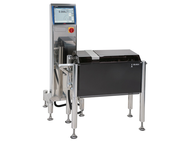High accuracy checkweigher for small products