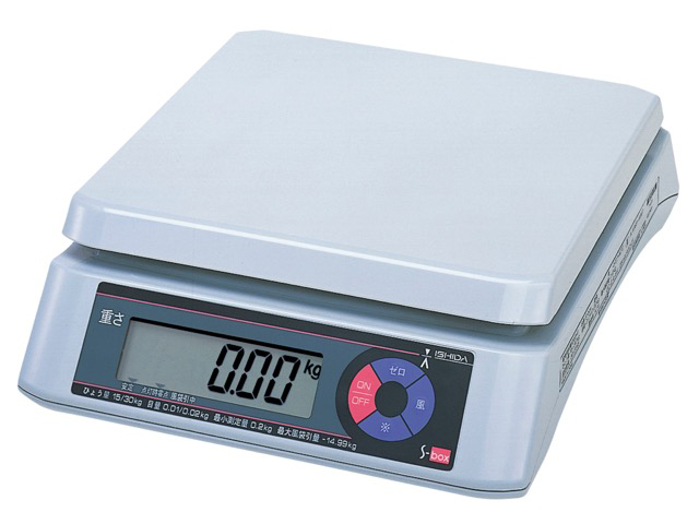 Scales List Weighing Products Ishida